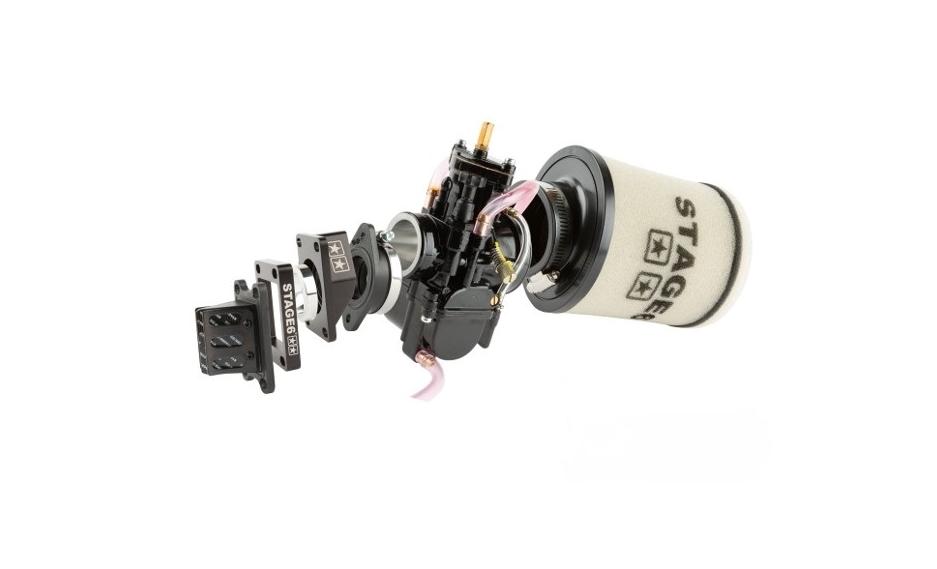 Stage6 Ansaugsystem 28mm schwarz klein